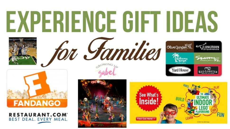 Experience gift ideas for the whole family browse home family celebrations christmas experience gift ideas negle Choice Image