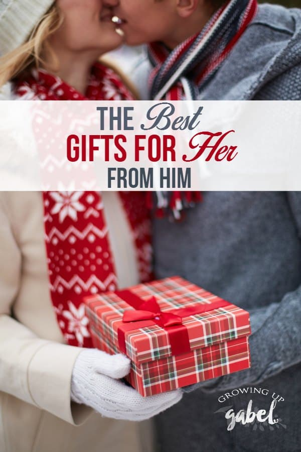 Find the best gifts for her from him in this awesome list of unique and thoughtful ideas she is sure to love. Perfect for all budgets!