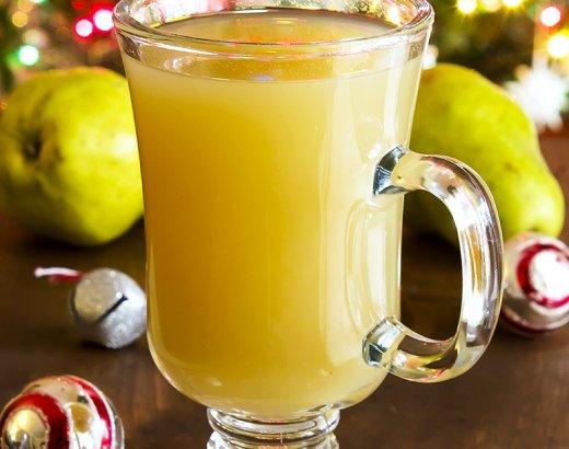 3 Ingredient Pear Martini Recipe