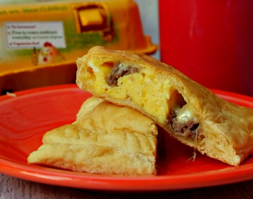 Egg, Sausage, and Cheese Easy Breakfast Empanadas