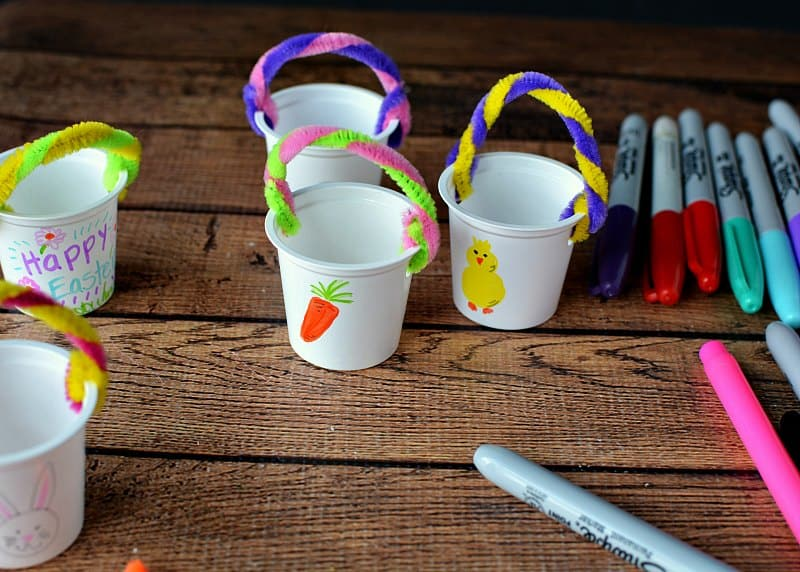 Mini Easter Baskets K Cup Craft