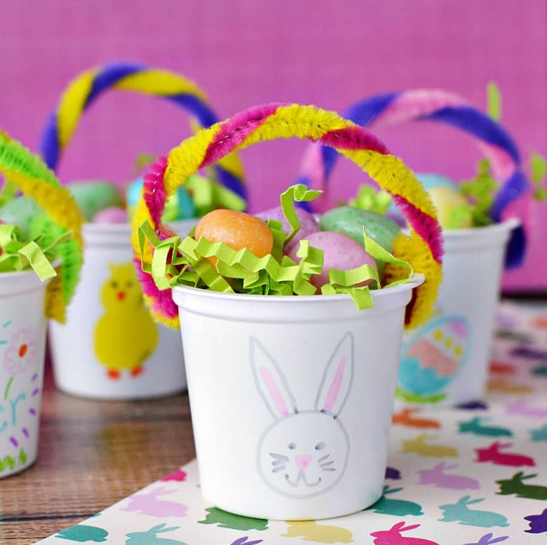 craft ideas for easter gifts mini easter baskets k cup easter craft 6162