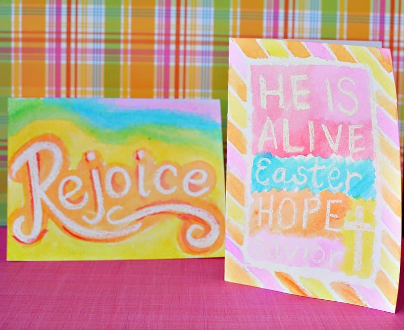 Handmade Easter Cards for kids to make