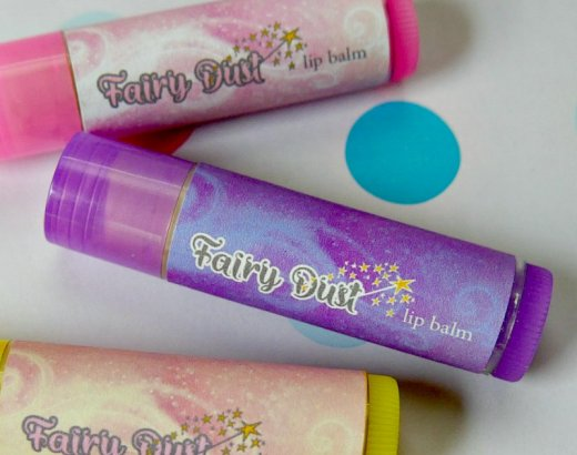 DIY Fairy Dust Lip Balm for Kids