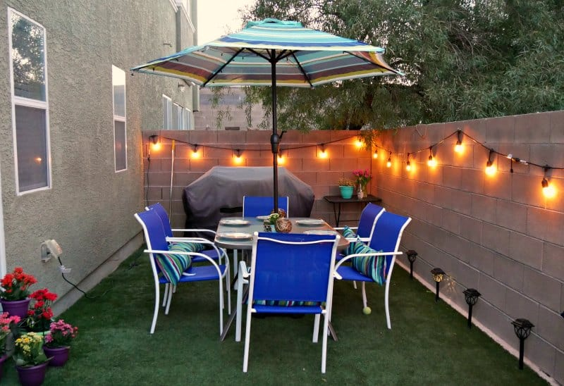 3 Small Backyard Ideas to Create an Outdoor Oasis on swing sets with lights, backyard ideas decorations, outdoor kitchen with lights, diy with lights, decks with lights, backyard ideas trees, outdoor rooms with lights, flowers with lights, furniture with lights, swimming pools with lights, outdoor fireplace with lights, backyard patio with lights, backyard landscape with lights, home with lights, retaining walls with lights, christmas with lights, garden with lights, fire pit with lights, landscaping with lights,