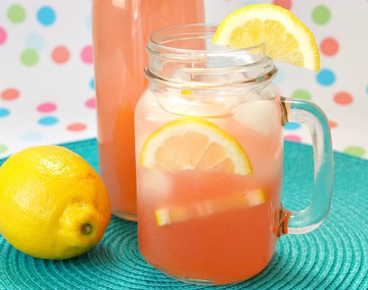 Easy Guava Pink Lemonade Recipe