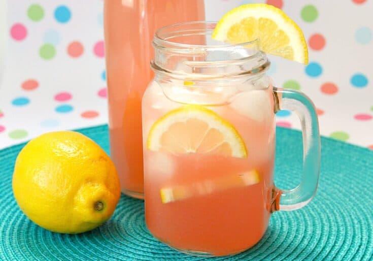 Easy Guava Pink Lemonade Recipe
