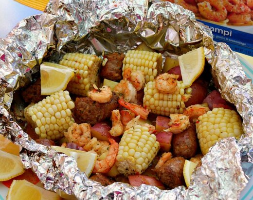 30+ Tin Foil Packet Camping Recipes