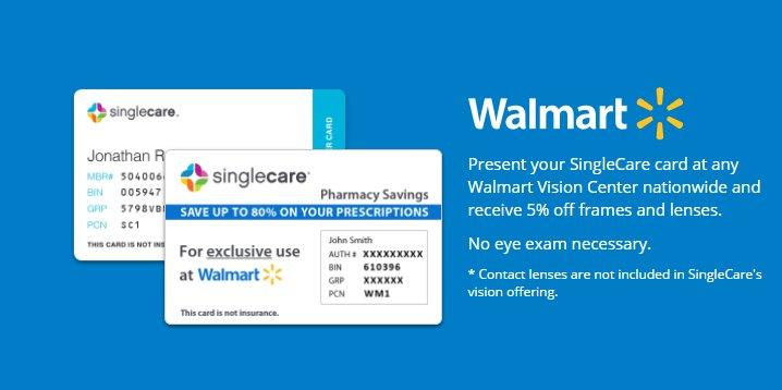 walmartjpg - Singlecare Prescription Card