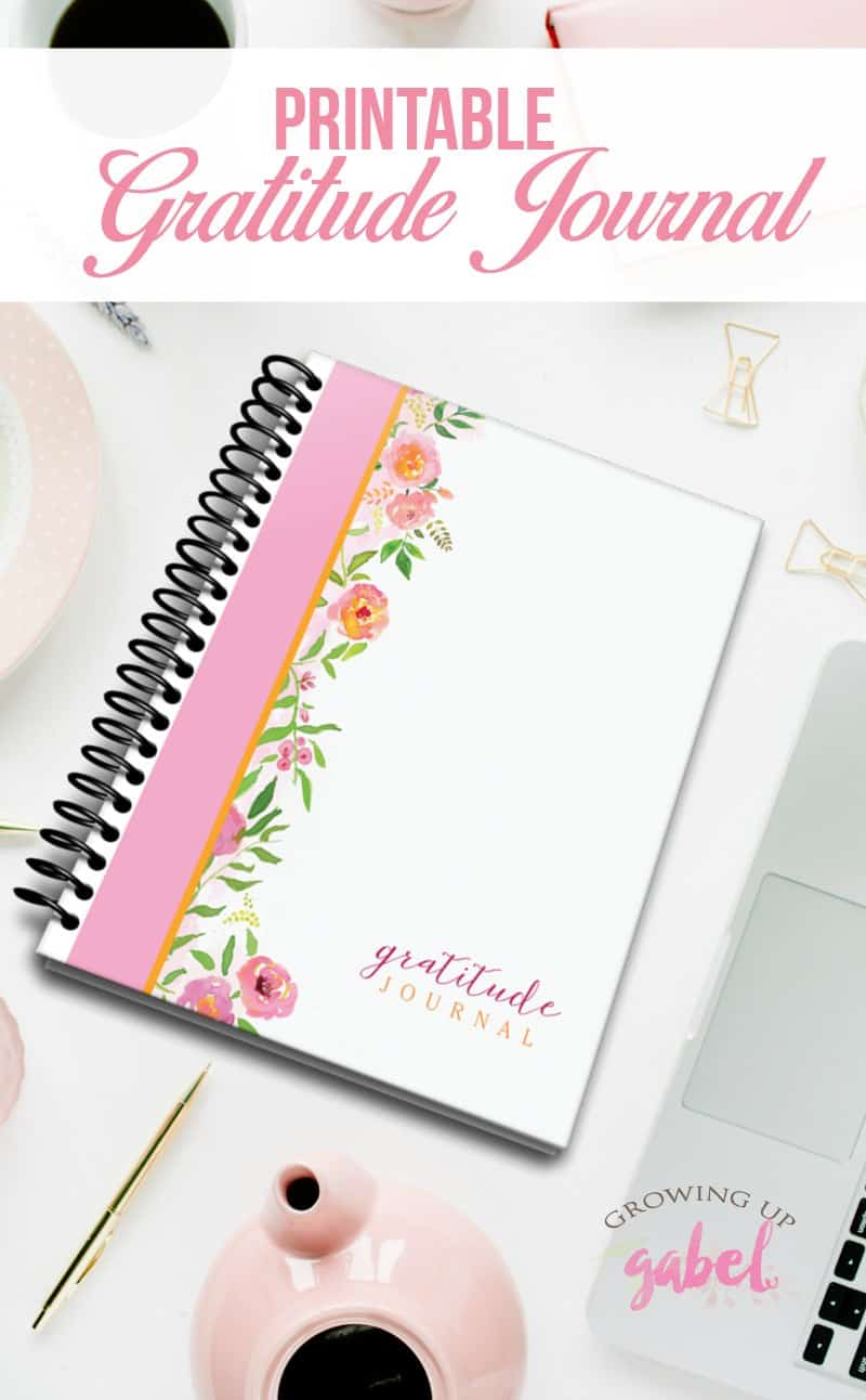 30 Days Of Gratitude Challenge With A Free Gratitude Journal