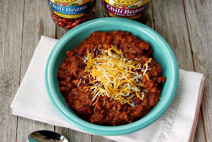 30 Minute Pressure Cooker Chili Recipe