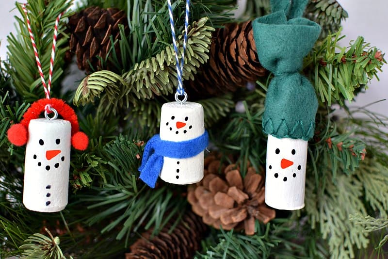 this article may contain affiliate links which support this site at no cost to you make snowman christmas tree ornaments using