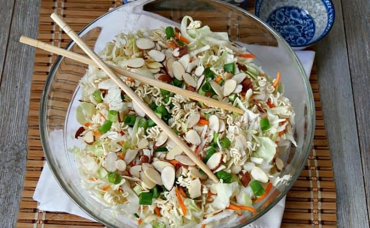 5 Minutes Oriental Salad Recipe