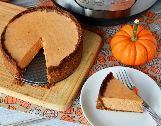 Instant Pot Pumpkin Cheesecake Recipe