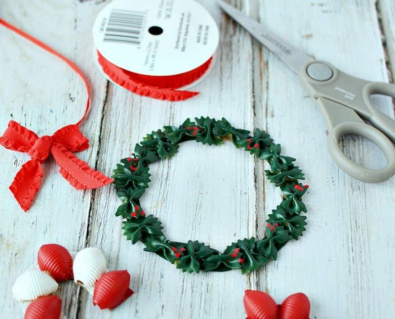 Easy DIY Pasta Christmas Ornaments