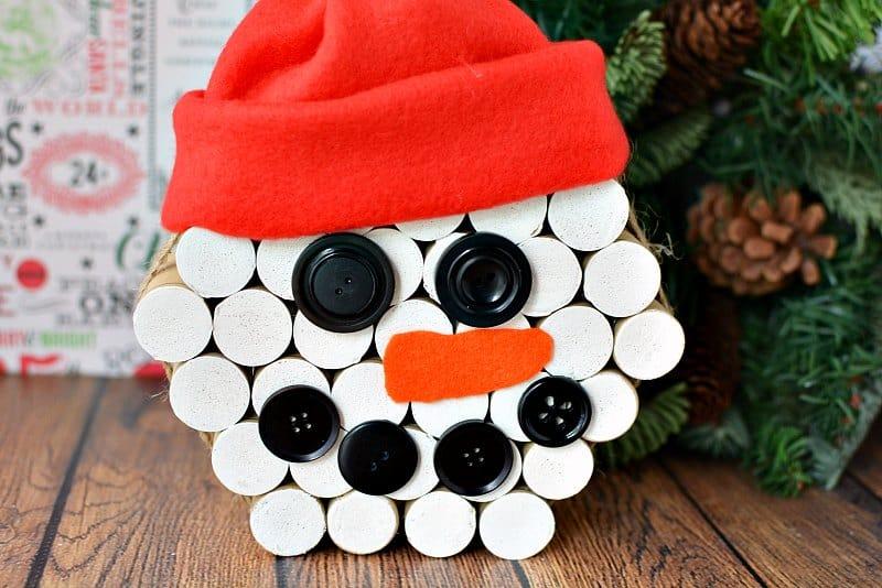 Christmas Wine Decorations