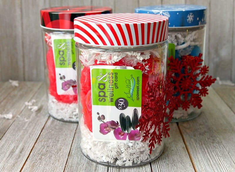Easy Spa In A Jar Gift Idea