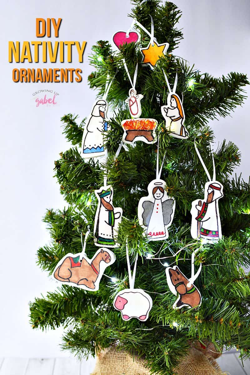 looking for fun christmas ornament crafts for kids check out these diy nativity ornaments to - Christmas Decoration Crafts