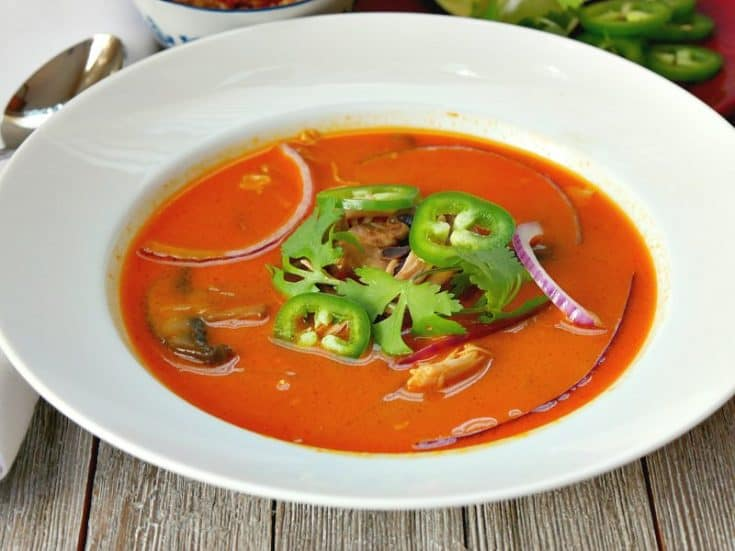 Spicy Thai Chicken Soup Recipe