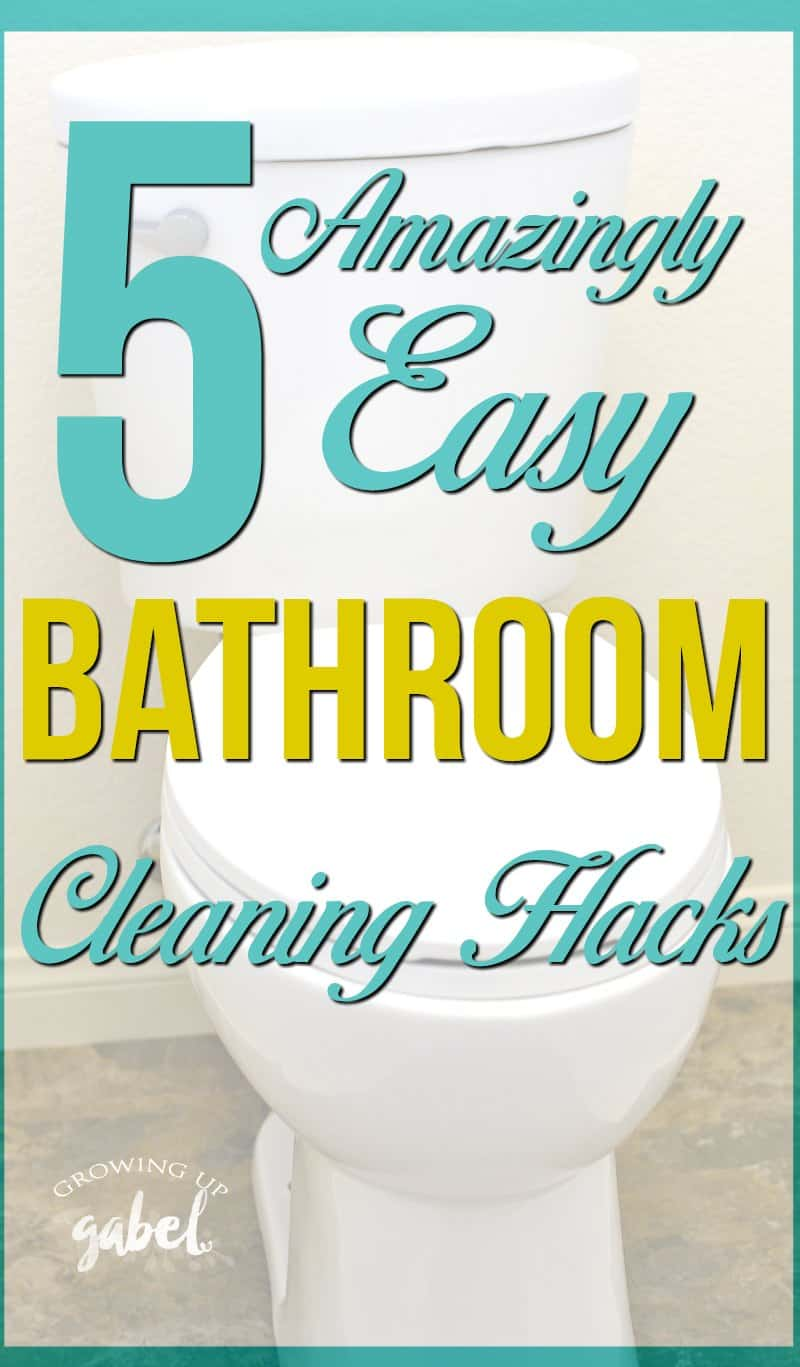 5 Amazingly Easy Bathroom Cleaning Hacks for Spring Cleaning