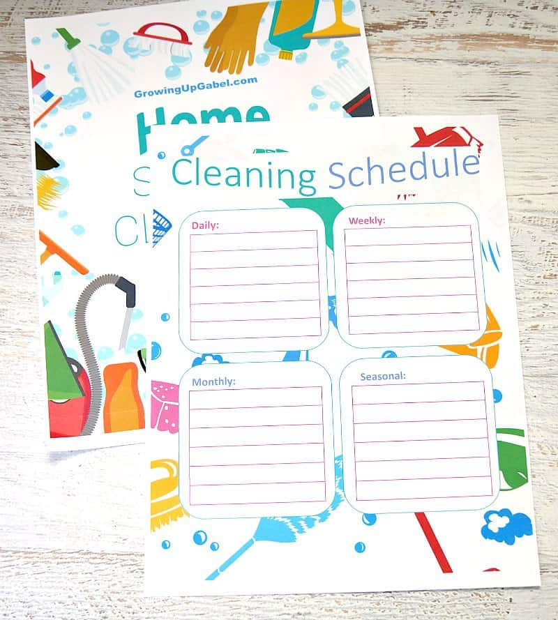 house cleaning schedule the ultimate house cleaning schedule 12711
