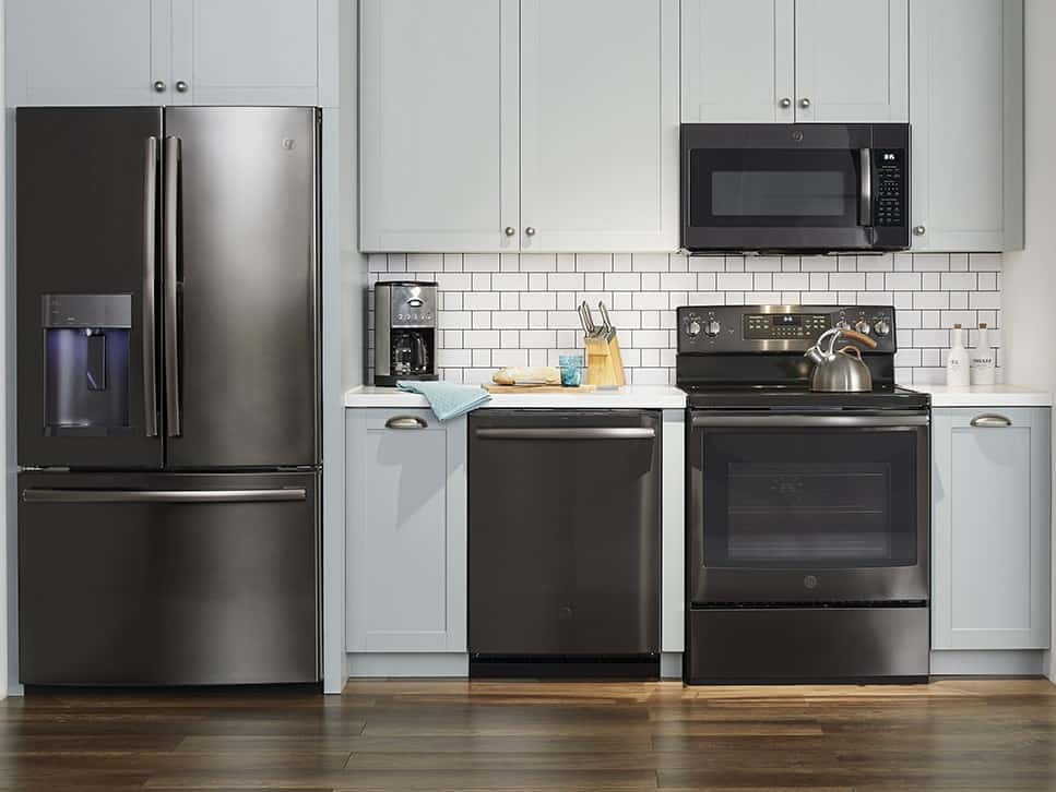 Kitchen Appliances With Ge Premium Finishes