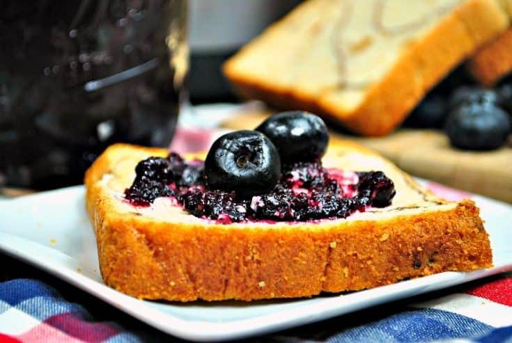Simple Homemade Blueberry Instant Pot Jam Recipe