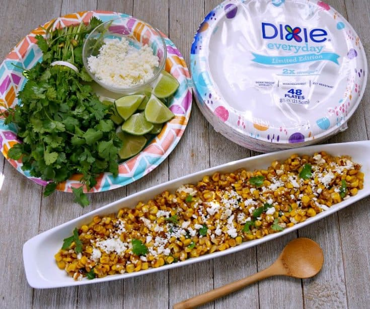 Easy Grilled Mexican Street Corn Off the Cob