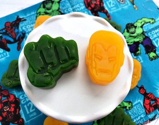 DIY Superhero Soap for Kids