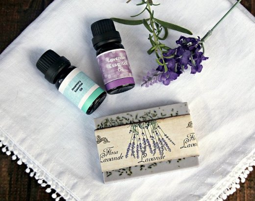 Rosemary Lavender Soap Recipe with Melt and Pour Goat's Milk Soap