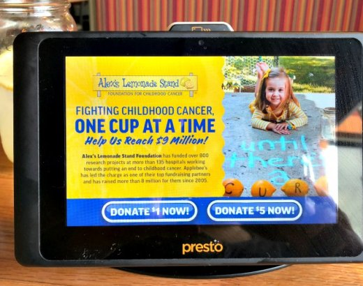 Plan a Date Night for A Cause at Applebee's Neighborhood Grill + Bar Alex's Lemonade Stand