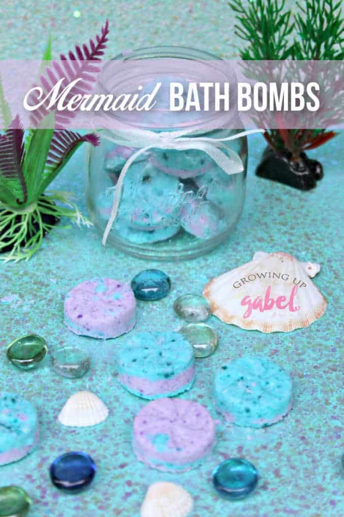 c3ecef842c67 Make your own all natural homemade mermaid bath bombs without citric acid  for your favorite mermaid! These all natural bath bombs also make colorful  and fun ...