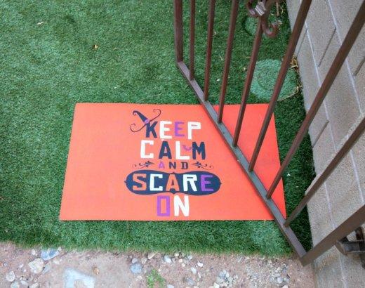 Backyard Family Halloween Party Ideas