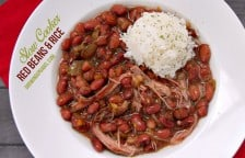 Easy Slow Cooker Red Beans and Rice Recipe