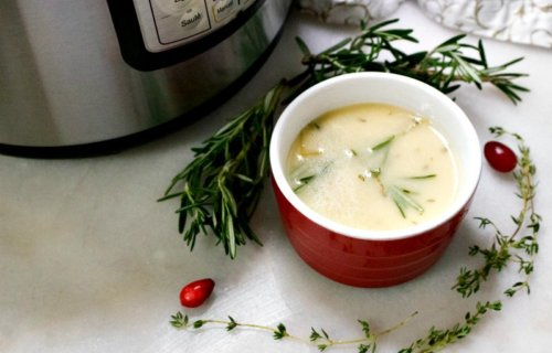 Instant Pot Homemade Turkey Gravy Recipe
