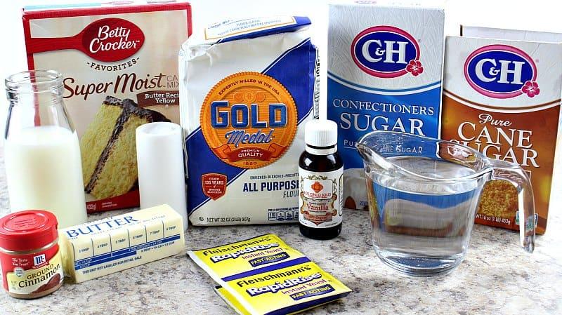 Make Cinnamon Rolls With Cake Mix