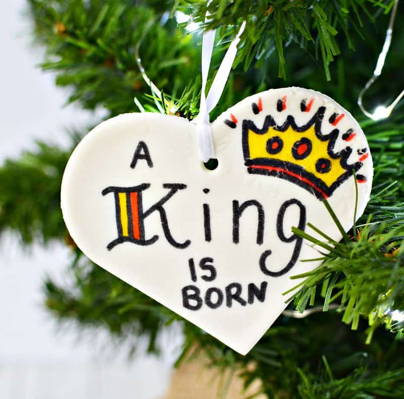 Christmas Tree In The Bible Scripture: DIY Christmas Scripture Verses Dough Ornaments