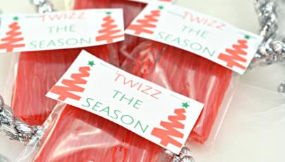 """""""Twizz The Season"""" Christmas Twizzlers Gift"""