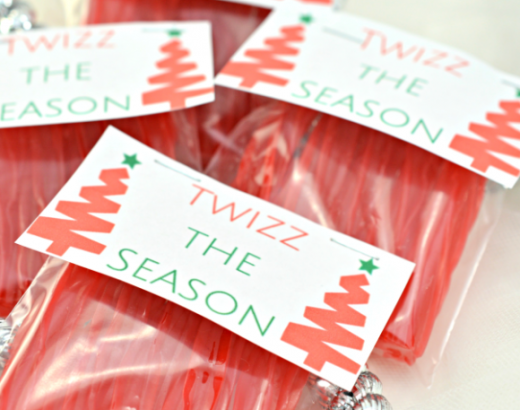 """Twizz The Season"" Christmas Twizzlers Gift"