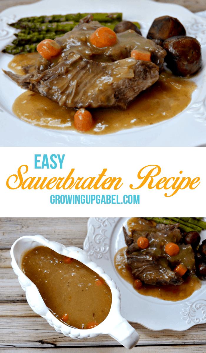 Easy Sauerbrauten Recipe