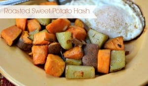Roasted Sweet Potato Hash Recipe