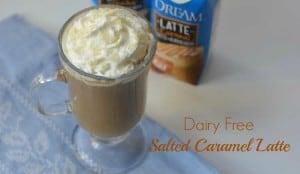 Dairy Free Salted Caramel Latte
