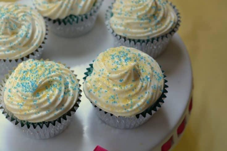 Maize and Blue Jell-O Cupcakes Go Blue Jell-O Jigglers