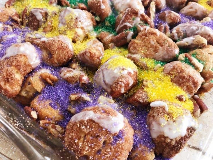 King's Cake Monkey Bread