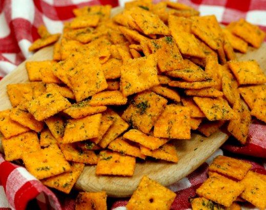 15 Minute Dill Ranch Cajun Crackers