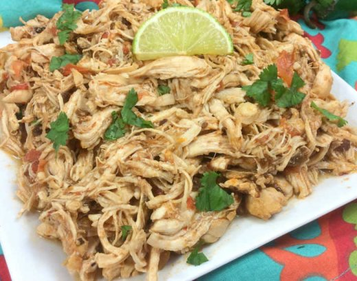 30 Minute Instant Pot Mexican Chicken