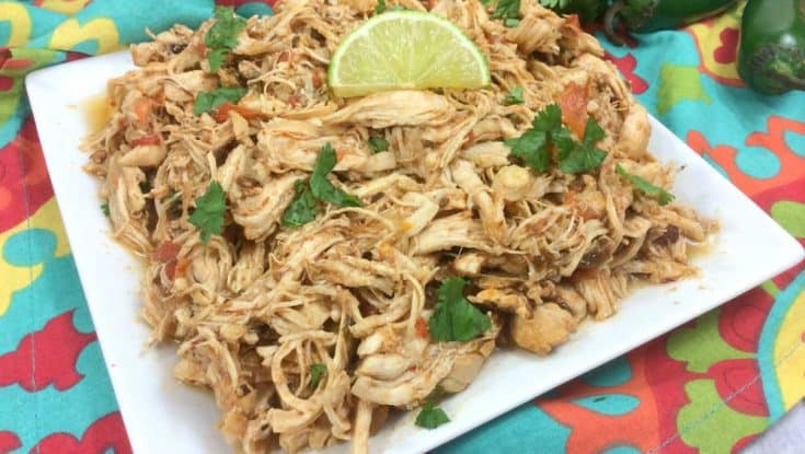 Instant Pot Chicken Tacos or Mexican Shredded Chicken