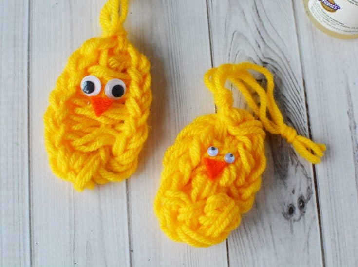 Finger Knitting Patterns for Baby Chick