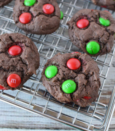 Christmas M&M Cookies Recipes