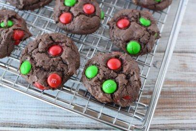 Christmas M&M Cookies Recipes